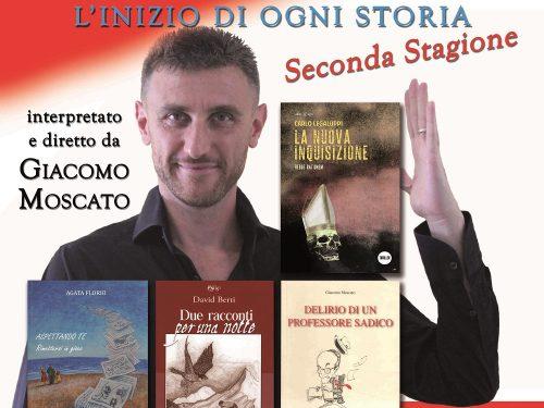 L'IMPERDIBILE SPETTACOLO DI GIACOMO MOSCATO IN SPIAGGIA SOTTO LE STELLE.
