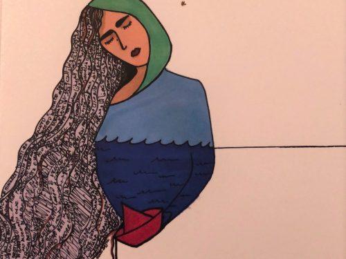 """""""Tutto questo mare tra di noi"""" di Beatrice Tauro."""