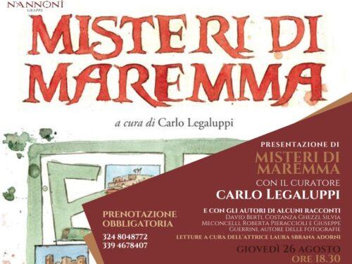"""""""Misteri di Maremma"""" alla Distilleria Nannoni."""